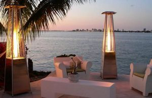 Outdoor Glass tube GAS heater