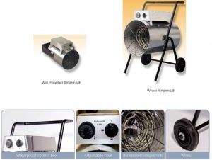 Airfarm-Anti-Corrosive Electric Fan Heater