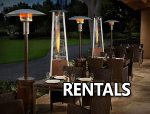Outdoor Patio heaters rental Dubai, Abu Dhabi